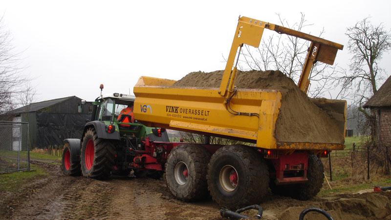 Gedwongen gestuurde VGM Kieper – 22 ton